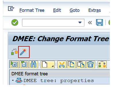 Activate DME Tree in SAP