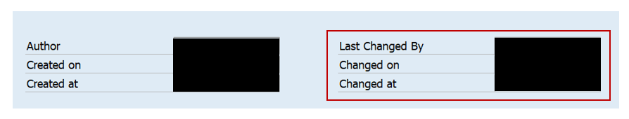 Check Change Log DME Tree in SAP