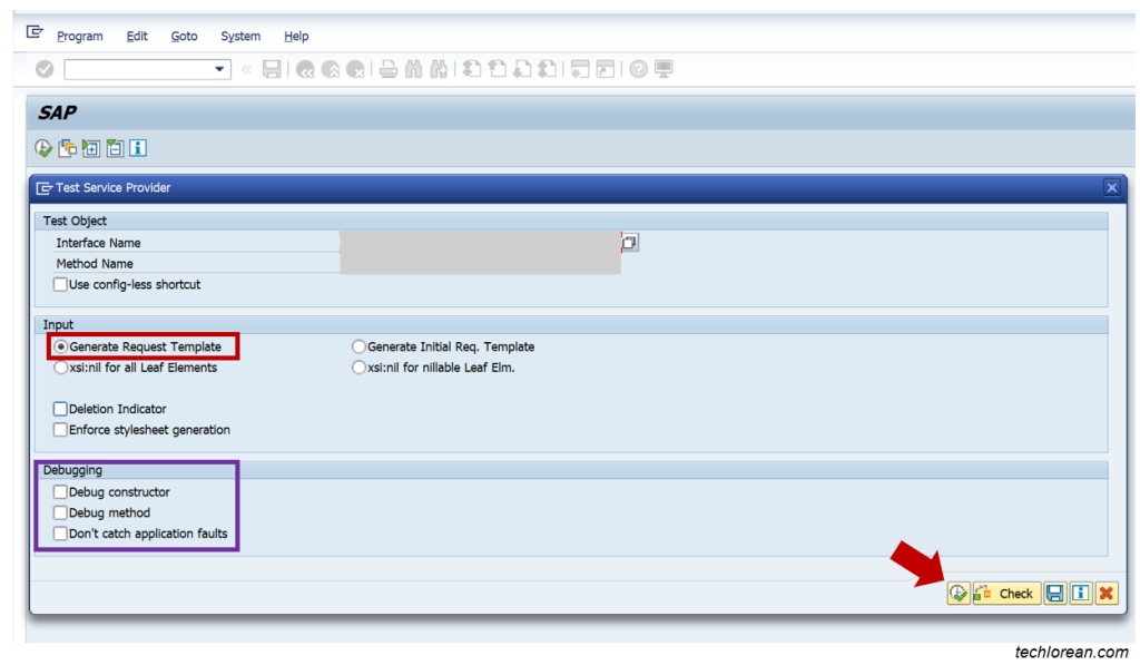 Test and Debug XML in SAP