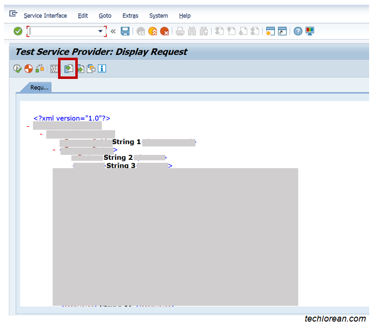 Test and Load XML in SAP