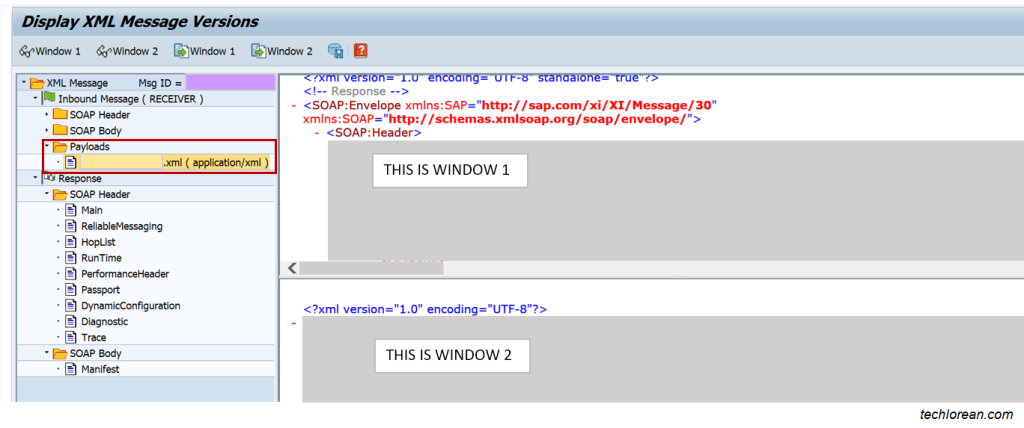 Test and Monitor XML in SAP