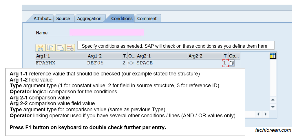 SAP DME Note to Payee Functionality