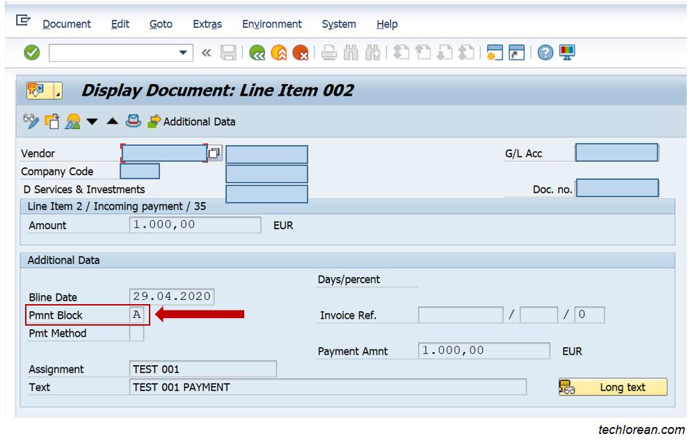 Solve SAP F110 Payment Run Error