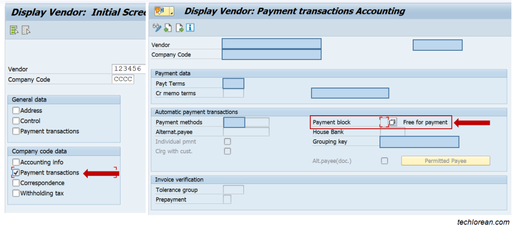 Solve SAP F110 Payment Run Error