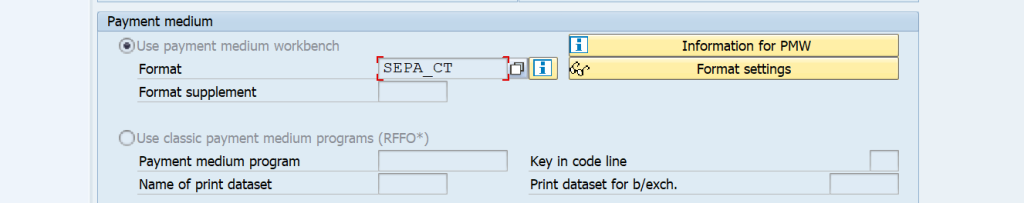 multiple payment medium output files in one F110 run. How do you connect F110 to a specific DME XML template SAP DME Link to F110