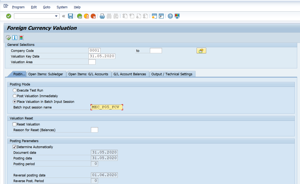 SAP Exchange Rate and Foreign Currency Valuation Detailed Process and Configuration FAGL_FCV