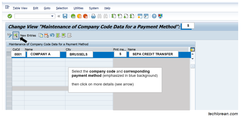 FBZP Payment method per company code SAP DME Configuration Simple Explanation Detailed Steps Payment Medium Output DME Engine Payment Medium Workbench SEPA_CT