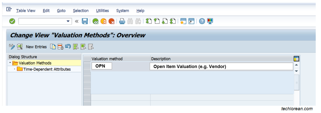 SAP Foreign Currency Valuation Configuration OB59