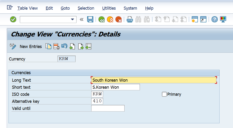 SAP Exchange Rate and Foreign Currency Valuation Detailed Process and Configuration - Currency OY03