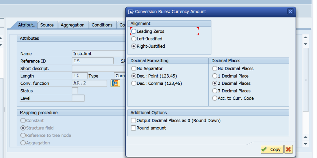 In SAP DMEE DME, what is the purpose of Conversion Function?