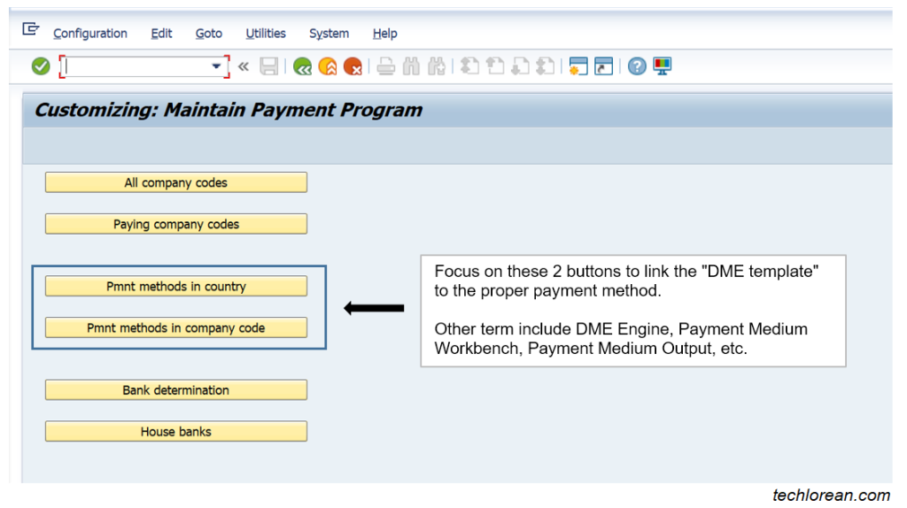 FBZP SAP DME Configuration Simple Explanation Detailed Steps Payment Medium Output DME Engine Payment Medium Workbench SEPA_CT