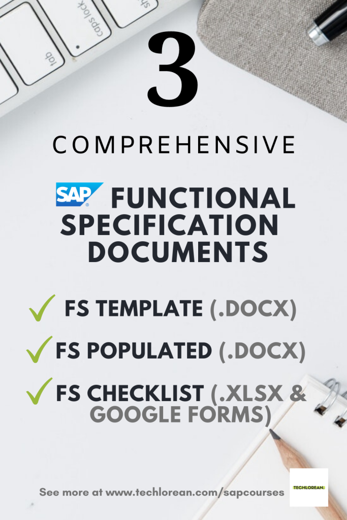 SAP FUNCTIONAL SPECIFICATIONS TEMPLATE SAP FUNCTIONAL SPEC GUIDE SAP FUNCTIONAL SPECIFICATION EXAMPLE