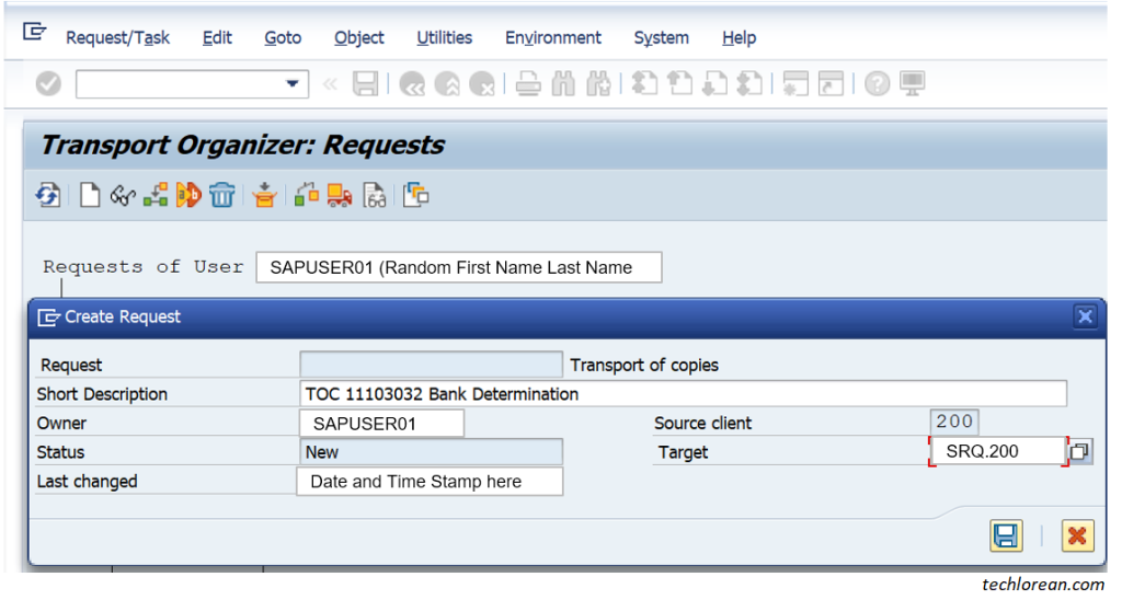 How to Create Transport of Copies (TOC) in SAP. Parent and Child Transport. Naming Convention