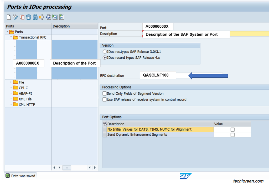 How to Resolve SAP IDoc Error Passing Data to Port WE21