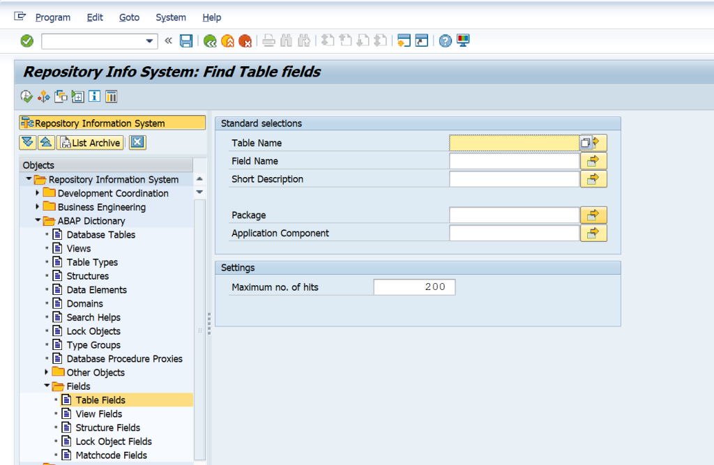 SAP Detailed Guide on How to Derive the Table-Field for Functional Specifications and Other Purposes. Is there a way to do find all tables involved for a certain field? se84