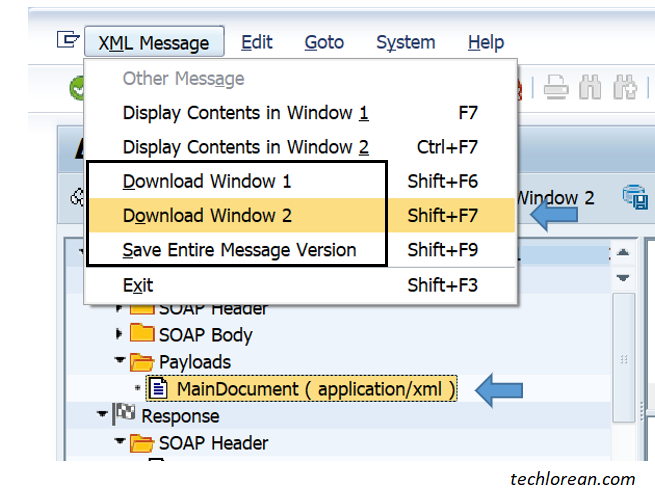 Download Message from SAP SXMB_MONI Basic Overview and troubleshooting for SAP Functional Consultants (Non-BASIS)