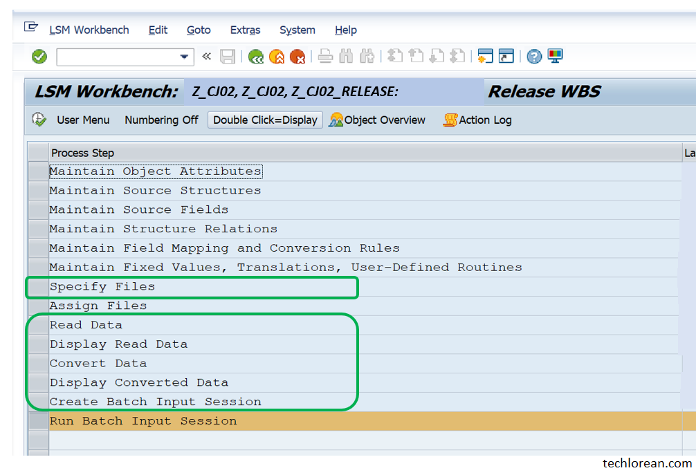 Reuse LSMW. LSMW for Beginner Functional SAP Consultants – Detailed Step by Step Procedure (Batch Input Session)