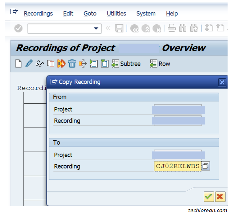 Copy Recording. LSMW for Beginner Functional SAP Consultants – Detailed Step by Step Procedure (Batch Input Session)