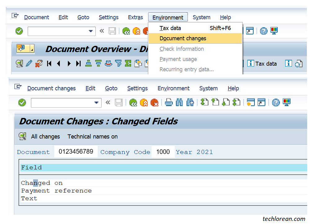 Utilizing CDHDR and CDPOS SAP Tables for Change Logs. Standard SAP Change Logs