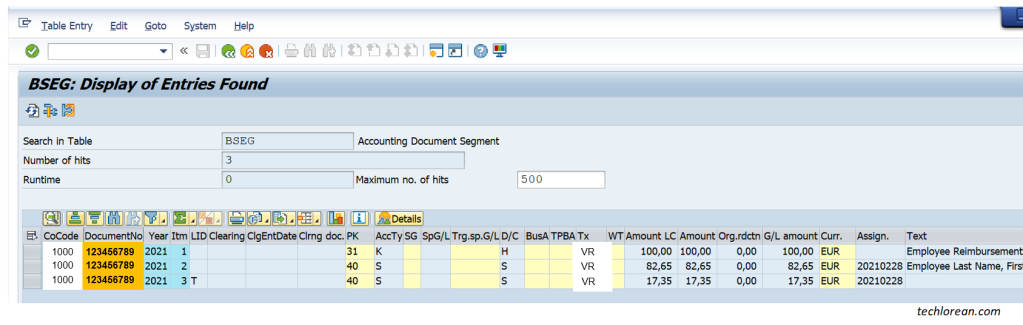 Utilizing CDHDR and CDPOS SAP Tables for Change Logs BSEG