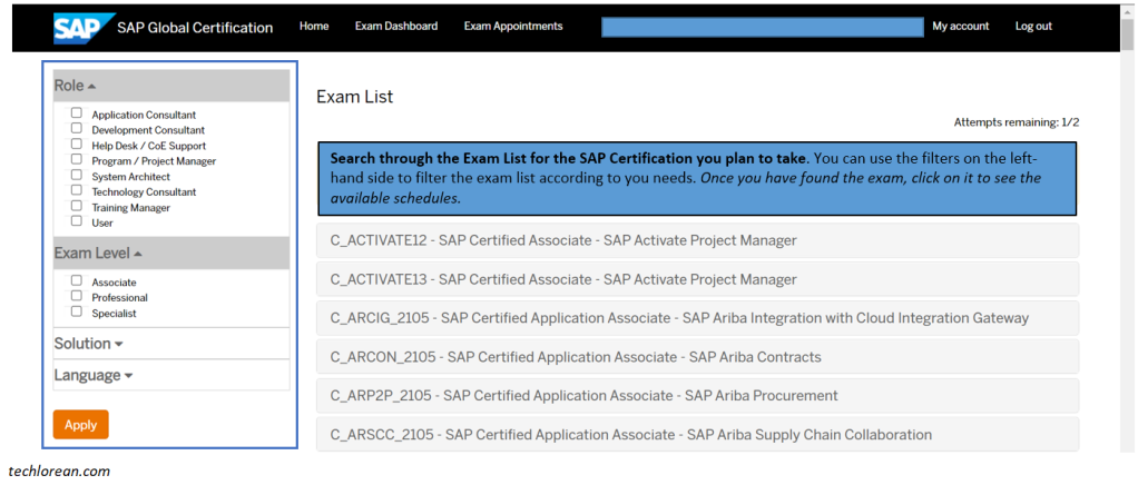 How To Schedule Your SAP Certification Exam | For Beginners