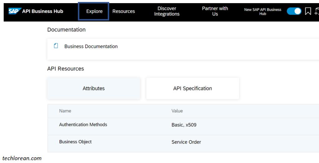 SAP Interfaces   Exploring The SAP API Business Hub